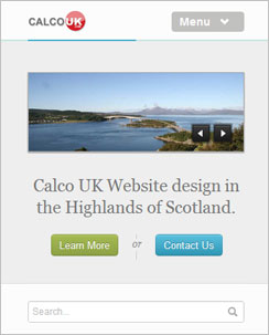 Responsive designs Demo by Calco UK