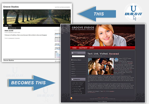 Wordpress Template Creation