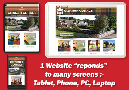 Website Design in Scotland and Responsive Design Website Specialists